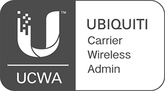 Ubiquiti logo and website link